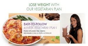 Nutrisystem Vegetarian Balanced Nutrition Turbo 13 Plan
