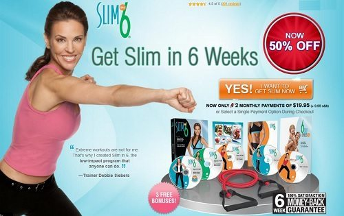 Slim In 6 Half Off!