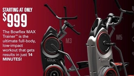 Bowflex Max Trainers M3 & M5