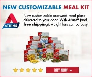 atkins customizable meal kits