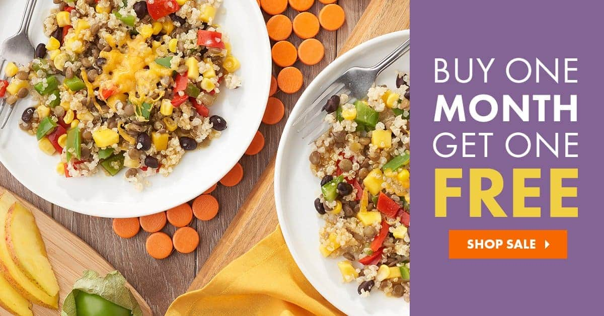 Get a Free Month of Nutrisystem Food