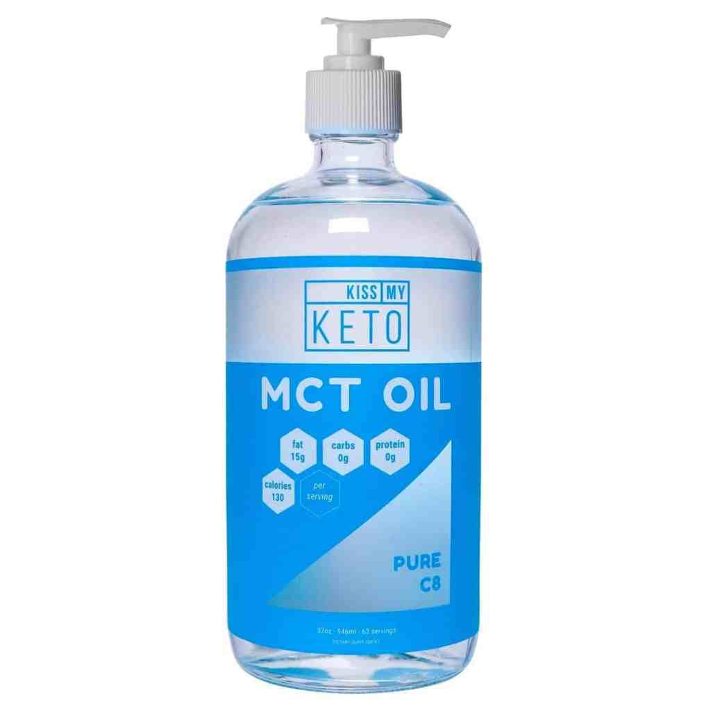 Kiss My Keto MCT Oil C8