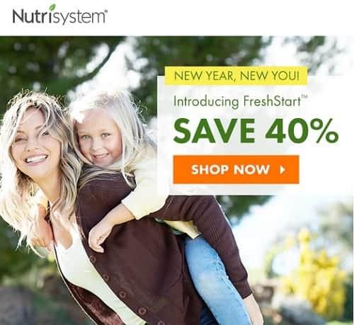 New Nutrisystem Fresh Start