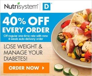 Nutrisystem D Diabetic Diet Plan – Type 2 Weight Loss Plan