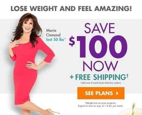 Nutrisystem Save $100 Now!