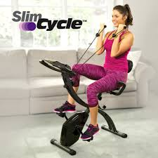 Slim Cycle Stationary Bike