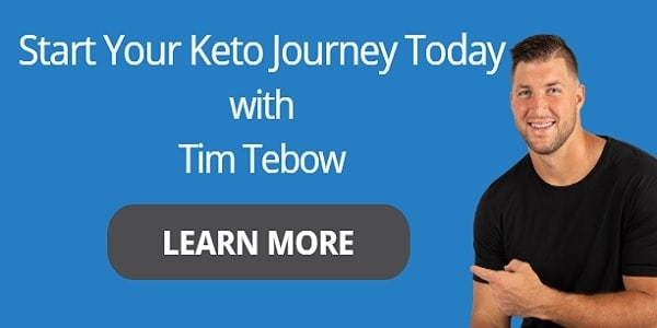 Start Your Keto Journey with Tim Tebow
