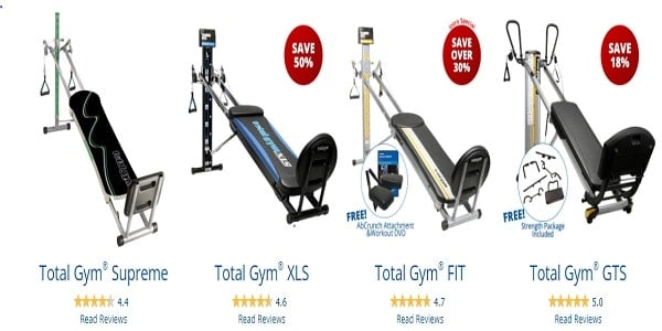 Total Gym Home Gyms