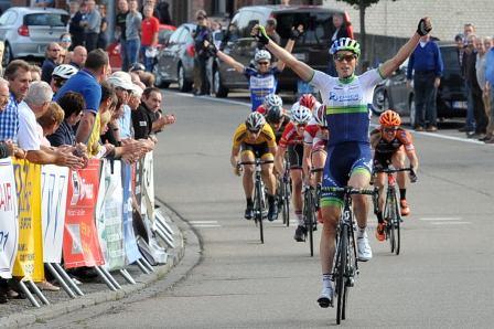 Overwinning Jens Keukeleire profwedstrijd Tienen en zelf mee in kopgroep