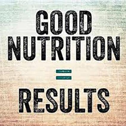 Good Nutrition = Results