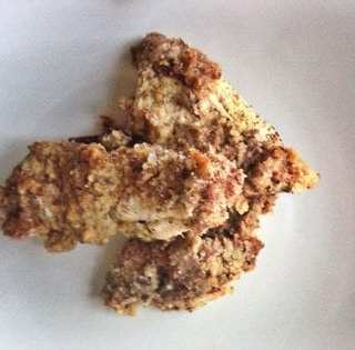 Maple Dijon Almond Crusted Chicken Nuggets