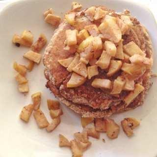 Gluten Free Cinnamon Apple Pancakes