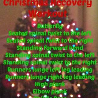 Christmas Recovery Workout