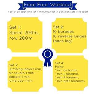 Final Four Workout