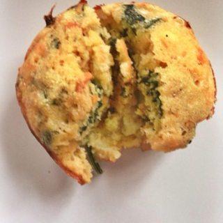 Veggie Cornbread Muffins