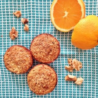 Orange Coconut Gluten Free Muffins