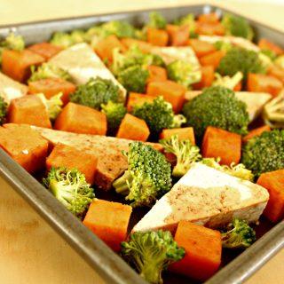 Vegan Sheet Pan Dinner