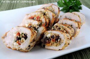 Greek Style Stuffed Chicken