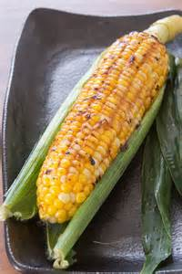 Barbecue corn with Miso Butter