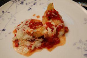 Fresh Tomatoes and ricotta Sauce