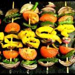 Spicy Vegetable Kebabs