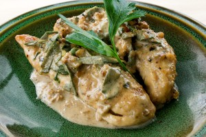 CHICKEN WITH SAGE