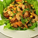 Prawn & Chicken Salad