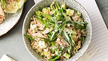 Japanese Tuna and Rice Salad