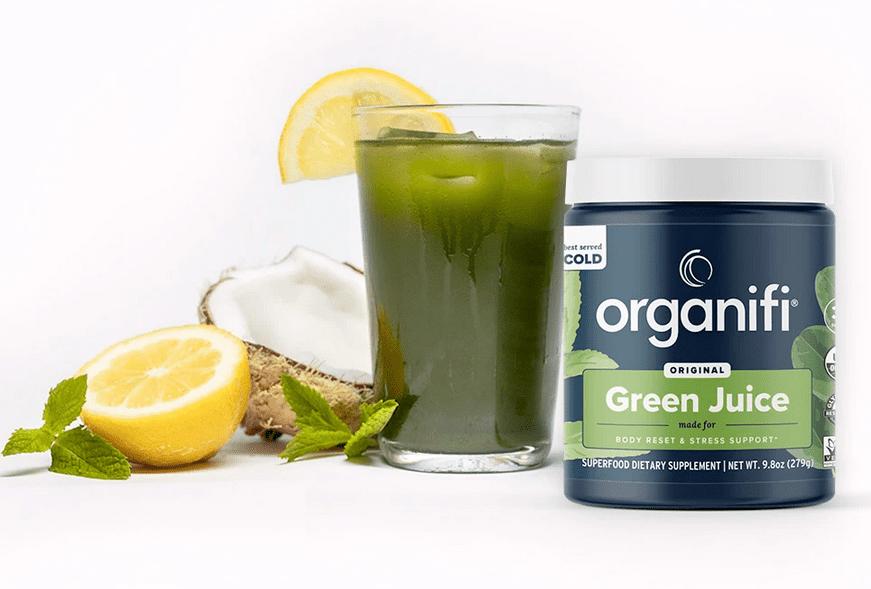 Organifi Green Juice Superfood Supplement