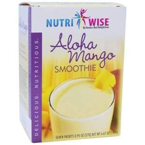 NutriWise Aloha Mango Diet Protein Smoothie (7/Box) Image