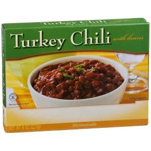 Turkey Chili With Beans Diet Entree Image