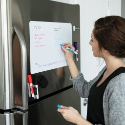Magnetic Whiteboard Planner for Fridge with Stain Resistant Technology