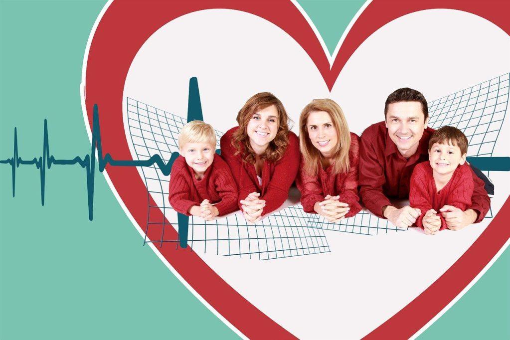 family, health, heart