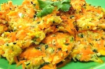 Zucchini Carrot Patties (Cabbage Soup Diet Recipe)