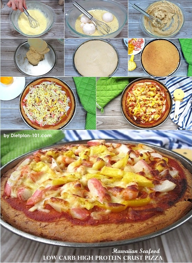 high-protein-crust-hawaiian-seafood-pizza-steps