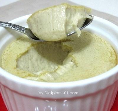 Baked Cinnamon Egg Custard (Atkins Diet Phase 2 Recipe)