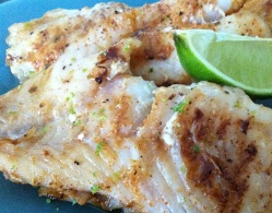Grilled Coriander Grouper Fillets (Dukan Diet PV Consolidation Recipe)