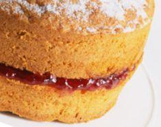 Gluten-Free Basic Sponge Cake Recipe