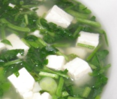 Gluten-Free Watercress Tofu Fish Soup Recipe