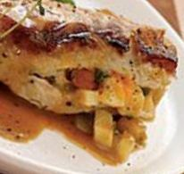 Savory Apple Stuffed Chicken Breast (South Beach Phase 2 Recipe)