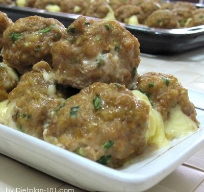 Taco Meatballs with Cheddar (South Beach Phase 1 Recipe)