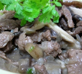 Beef Stroganoff with Mushroom (Atkins Diet Phase 1 Recipe)