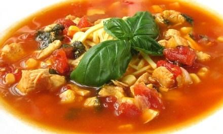 Chicken Tortilla Soup (South Beach Phase 3 Recipe)