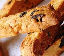 Soy Hazelnut Biscotti with Dried Cherries (Atkins Diet Phase 3 Recipe)