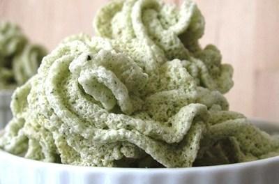 Low Carb Japanese Green Tea Meringue Cookies (Atkins Diet Phase 1 Recipe)