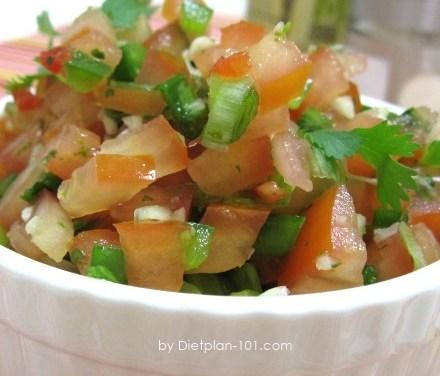 Homemade Tomato Salsa Recipe