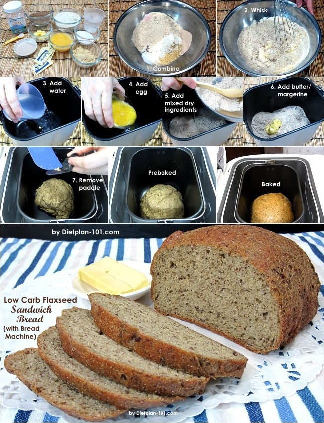 low-carb-flaxseed-sandwich-bread-steps