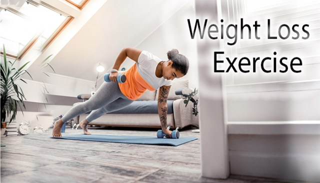 exercise for weight loss at home