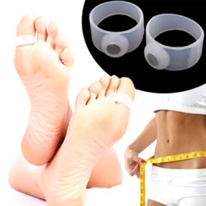1 Pc Silicone Magnetic Foot Massage Toe Ring Durable Weight Loss Magnetic Silicon Foot Care Diet Foot Massager Toe Rings L3