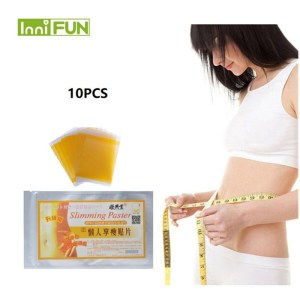 10pcs/back Fast Slimming Diet Products No-diet Weight Loss Slimming Patch Slim Patches Fat Burning Health Care Patch